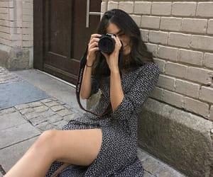 camera, dress, and fashion image