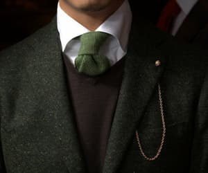 green, suit, and slytherin image