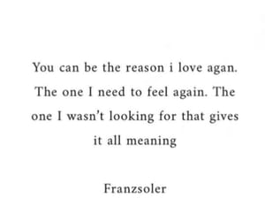 quote, love, and reason image