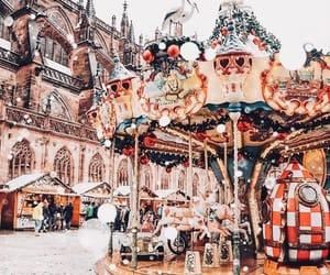 christmas, winter, and fun image