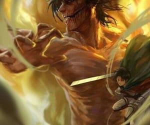 levi, ackerman, and titan image
