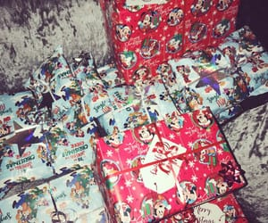 baby, december, and presents image