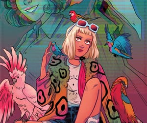 art, dc comics, and shade the changing girl image