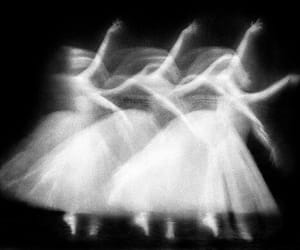 ballet and monochrome image