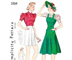 etsy, high waist shorts, and puff sleeve blouse image