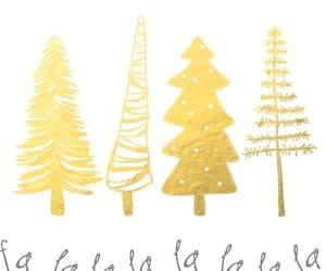 christmas, wallpaper, and gold image