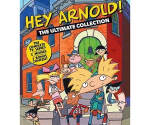 cartoons, hey arnold, and nickelodeon image