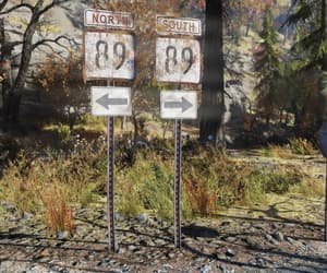 arrows, north, and fallout 76 image