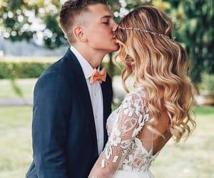amor, boda, and couple image