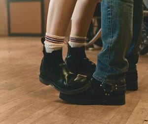 couple, aesthetic, and shoes image
