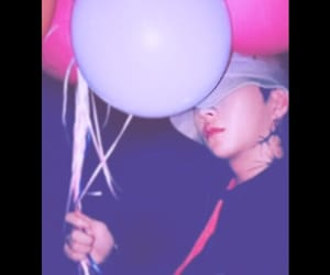 baloons, edit, and tattoo image