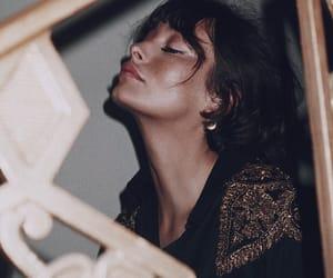 beauty, brunette, and taylor lashae image