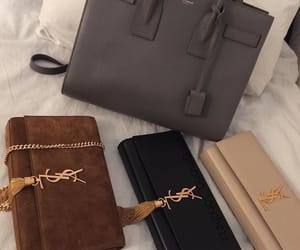 bag, YSL, and luxury image