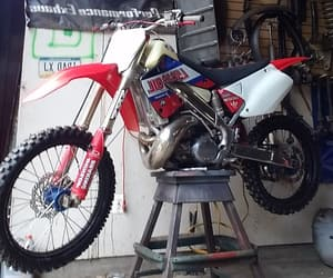 chrome, offroad, and Honda image