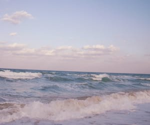 ocean, beach, and sea image