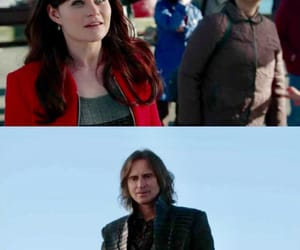 once upon a time, rumplestilskin, and rumbelle image