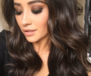 shay mitchell, makeup, and hair image