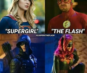 arrow, flash, and heroes image