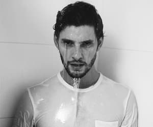 ben barnes, black and white, and boys image
