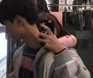 asian, couple, and korean image