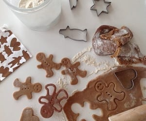 christmas, baking, and winter image
