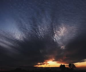 clouds, dusk, and sky image