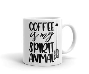 coffee addict, work mug, and funny coworker gift image