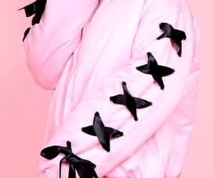fashion, jacket, and ribbon image