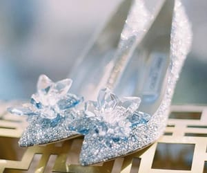 bride, diamond, and shoes image