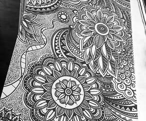 art, mural, and drawing image