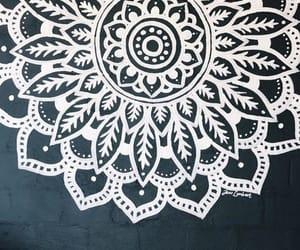 art, drawing, and mural image