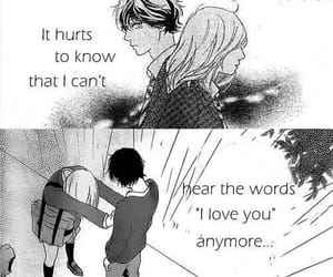 anime, cry, and black and white image