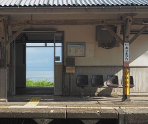 japan, station, and aesthetic image