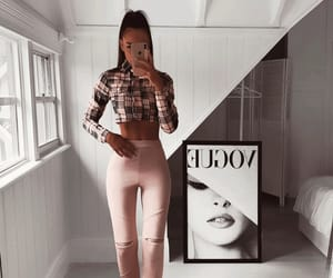 pink, girly inspo, and outfit goals image