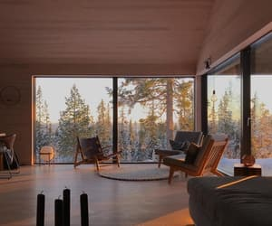 cabin, cabins, and cozy image