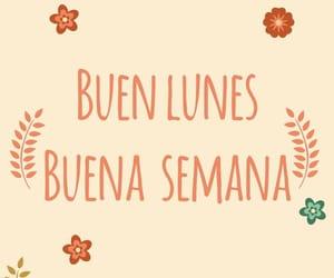 buen dia and lunes image