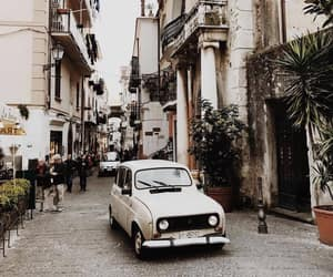 Amalfi, car, and street image