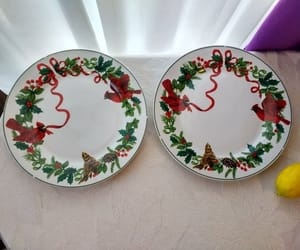 etsy, royal norfolk, and christmas tableware image