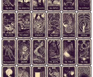 cards, witchcraft, and wicca image