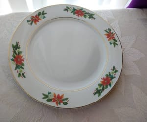 etsy, dinner plate, and holiday tableware image