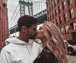 couples, new york, and love image