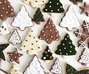 cake, christmas, and Cookies image