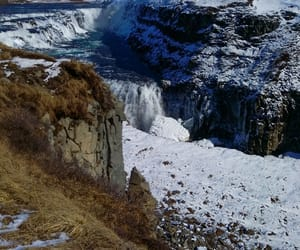 cliff, cold, and snow image