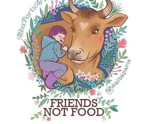 vegan, animal, and compassion image