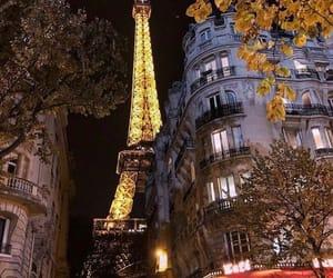france, light, and paris image