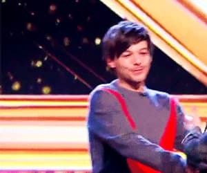 gif, louis tomlinson, and the x factor image