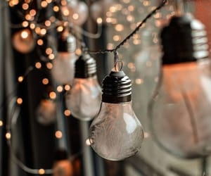 lights, winter, and christmas image