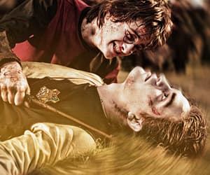 cedric diggory, daniel radcliffe, and harry potter image