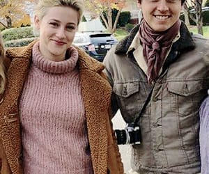 couple, cole sprouse, and lili reinhart image