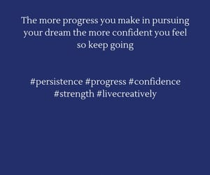 confidence, progress, and persistence image